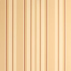 Бумажные обои вертикальную полоску теплой цветовой гаммы EATON STRIPE (Copper)