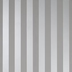Бумажные обои в широкую серебристую полоску LILLE (Steel)