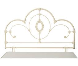Металлическое изголовье для небольшой кровати SOMERSET 3FT  121*93*6 (Ivory)