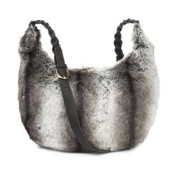 Оригинальня сумка из искусственного меха BG 388  Grey multi