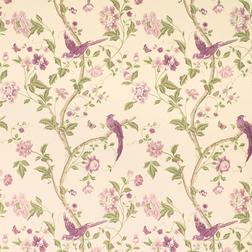 Бумажные обои со сказочным рисунком в фиолетовой гамме SUMMER PALACE (Grape)