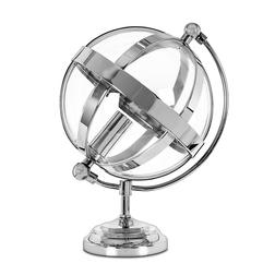 Настольная лампа в форме шара ODIHAM DESK 30*18,5 (Nickel)