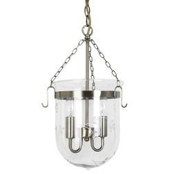 Люстра из металл и стекла в дворцовом стиле BERWICK 46*23 (Glass)