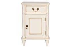 Прикроватная тумбочка с дверкой открывающейся вправо CLIFTON Right BEDSIDE 68*45*35 (Ivory)