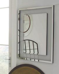 Прямоугольное настенное зеркало EVIE 120*100*3 (Mirrored)