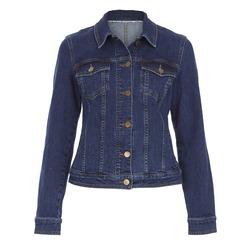 Джинсовая куртка темно-синего цвета из хлопка CT 991