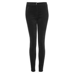Вельветовые брюки-слим темно-серого цвета TR 312