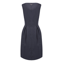 Платье-сарафан графитового цвета MD 842