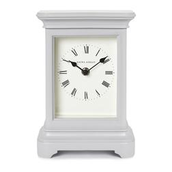 Настольные часы английского производства LIBRARY LARGE 22*16*8 (Dove Grey)
