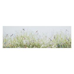 Купить красивую картину в интернет-магазине Laura Ashley IN THE HEDGEROW BIRDS CANVAS 65*21 (Multi)