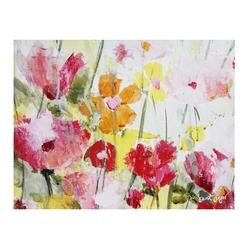 Купить картину цветов в интернет-магазине Laura Ashley MODERN FLORAL CANVAS 52*67 (Multi)