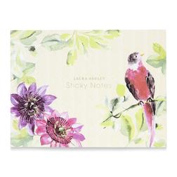 Купить набор для нотаток английского бренда FLORAL HERITAGE STICKY NOTES 13*18,5 (Pink)