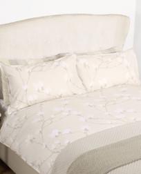 Одинарный комплект постели с цветами магнолии MAGNOLIA GROVE SG 137*200, 50*75 set of-1 (Natural)
