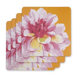Набор квадратных подставок под посуду с цветочным рисунком FLORAL HERITAGE SET OF 4 PLACEMATS 29*29