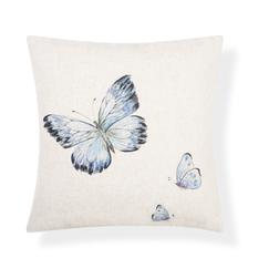 Купить подушку в интернет-магазине Лора Эшли BUTTERFLY BEADED 45*45 (Dark Seaspray)