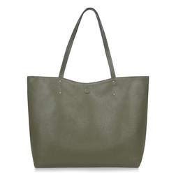 Сумка-шоппер цвета хаки BG 718