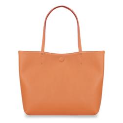 Сумка-шоппер персикового цвета BG 719