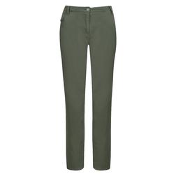 Укороченные брюки зеленого-серого цвета TR 237
