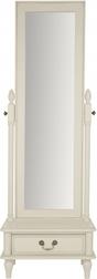 Напольное зеркало с выдвижным ящиком CLIFTON CHEVAL 160*55*40 (Ivory)