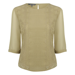 Блуза зеленого цвета BL 184