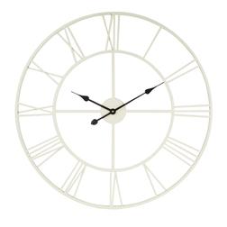 Большие металлические часы кремового цвета BRADSHAW OUTDOOR Ø78 (Cream)