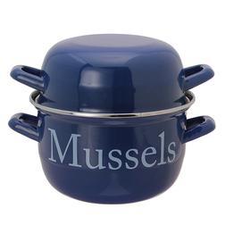 Двойная кастрюлька для приготовления мидий MUSSELS POT Ø18 (Seaspray)