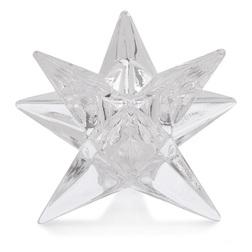 Подсвечник в форме звезды STAR DINNER CANDLE HOLDER 9*7 (Clear)