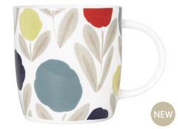 Чашка в абстрактные цветы SERENA MUG (Multi)