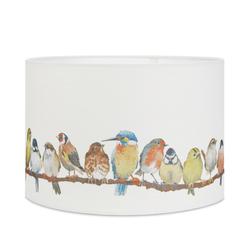 Широкий абажур с цветными птичками 16 BIRDS Ø40,5 (Multi)