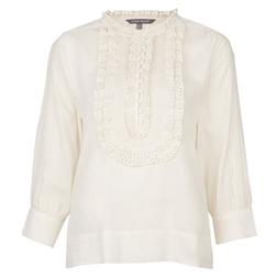 Белая блуза оригинальной вышивкой с BL 250