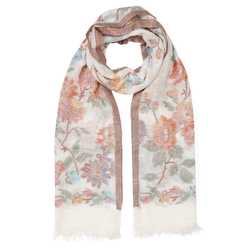 Весенний шарф с нежной расцветкой SH 776
