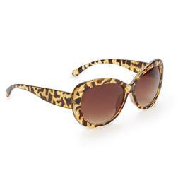 Яркие очки леопардового цвета SL 772
