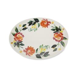 Овальное блюдо с цветами FARNLEY PAINTED PLATTER 25*34