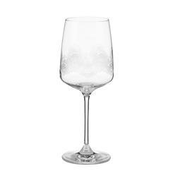 Бокал для вина с рисунком перьев павлина MONTAGUE FEATHER ETCHED WINE  H20 (Clear)