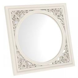 Круглое зеркало в квадратной раме AUDLEY WALL TILE 24*24 (Grey)