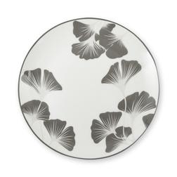 Набор тарелок с серебристо-серым рисунком GEORGINA SET OF 4 CAKE PLATES 2,5*21 (Grey)