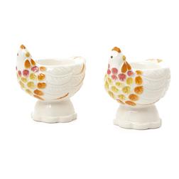 Набор подставок для яиц CHICKEN EGG CUPS SET OF 2 7,5*5,5*8 (Multi)