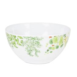 Тарелка с рисунком садовой зелени LIVING WALL BOWL 7,1*15,5 (Multi)