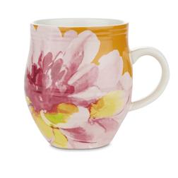 Большая чашка с рисунком цветка FLORAL HERITAGE RIBBED LARGE 11*10 (Multi)
