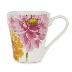 Чашка с рисунком крупных цветов FLORAL HERITAGE RIBBED 10*8 (Multi)