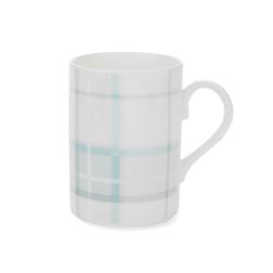 Чашка в клетку голубого цвета HIGHLAND CHECK 10*8 (Duck Egg)