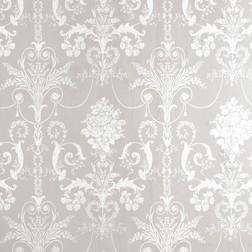 Гардинная ткань из хлопка и льна серого цвета JOSETTE (Dove Grey)
