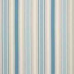 Гардинная ткань из хлопка и льна в голубую полоску  AWNING STRIPE (Seaspray)