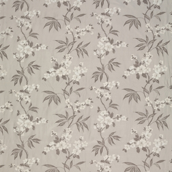 Шелковисткая ткань с цветочной вышивкой CALISSA (Marble Grey)