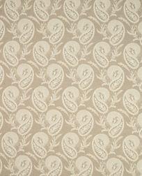 Гардинная ткань с красивым рисунком бежевого цвета THISTLEWOOD (Truffle)