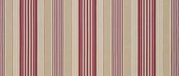 Полосатая ткань в бежевых и красных цветовых гаммах IRVING STRIPE (Cerise/Pink)