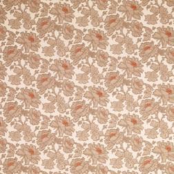 Хлопковая ткань для штор в крупные цветы TAMARA (Copper)