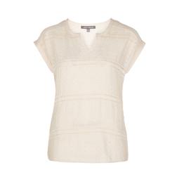 Блуза молочного цвета BL 323