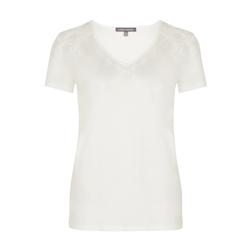 Легкая футболка с перфорацией TS 923 Ivory