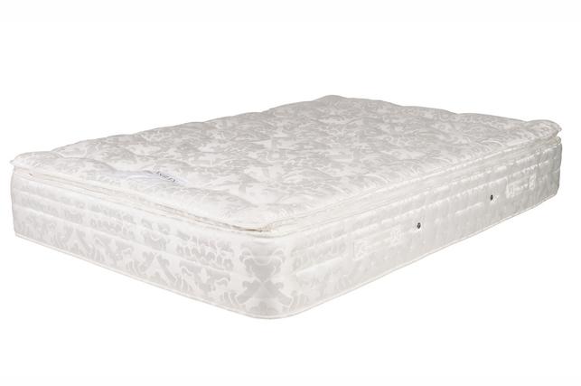 Мягкий пружинный матрас для самой большой кровати BEAUMONT 6FT 200*180*30 (Ivory)